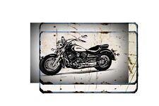 Yamaha V Star 1100 Bike Motorcycle A4 Retro Metal Sign Aluminium