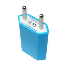 Ladegerät Netzteil Stecker für iPhone 5 6 7 Samsung S3 4 5 6 7 HTC Nokia in Blau