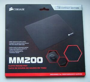 Corsair MM200 cloth gaming mouse pad, 265mm x 200mm (Compact Edition)