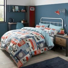 Volkswagen Block Print Multi Duvet Cover Set