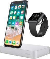 Belkin Valet Charging Dock for Apple iPhone and Watch - Sliver / Rose Gold
