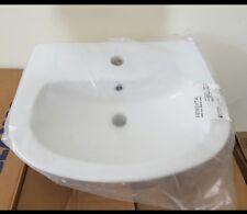 Bathroom Maximise Semi Recessed Basin White