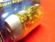 ONE NEW No need Battery 3 LED Hand Pressing Flash Light Torch YELLOW COLOUR