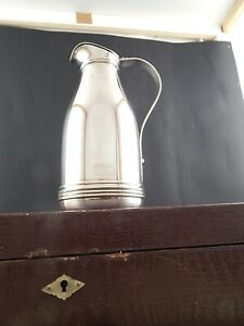 VINTAGE THERMOS CARAFFA BROCCA JOHN STERLING SHEFFIELD SILVER PLATED
