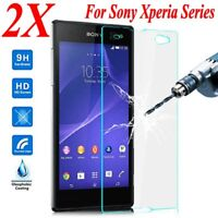 TEMPERED GLASS SCREEN PROTECTOR COVER FOR SONY XPERIA EXPERIA ALL MODEL /DA