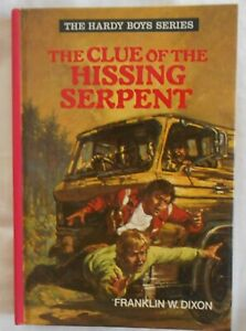 The Hardy Boys #1, The Clue of the Hissing Serpent by Franklin W Dixon hc 1979