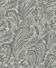 Flocked Floral Wallpaper Rolls