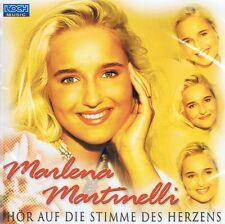 Marlena Martinelli - Hör auf die Stimme des Herzen - CD NEU - Vorsicht blond