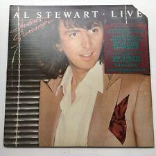Al Stewart- Live Indian Summer'  RARE NM PROMO 2LP 1ST Press ORIGINAL LINERS