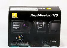 Nikon KeyMission 170 WaterProof ShockProof FreezeProof 4K Action Video Camera