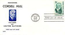 US FDC #1235 Hull, KJM (4549)aa