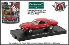 '68 Pontiac Firebird 400 H.O. in Blister Pack M2 Machines 1:64th Diecast Car