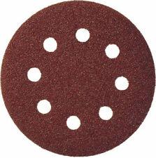 KLINGSPOR 125 X 40 Grit Sanding Disc Hook & Loop Velcro 8 Hole Ps22k