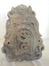 Antico Amuleto Cinese in Pietra dura,Stemma nobiliare -2-