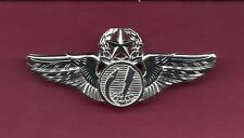 US Remote Command Pilot Aircraft Drone Wings Badge USAF
