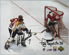 Phil Tony Esposito Dual Autographed/Certified 8x10 Upper Deck JSA Authenticity