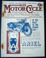 MOTOR CYCLE MAGAZINE 26.04.35 - NEW IMPERIAL 976C.C. ROAD TEST - No 1663  Vol 54