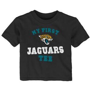 "Jacksonville Jaguars Outerstuff NFL Infant Black ""My New First Tee"" T-Shirt"