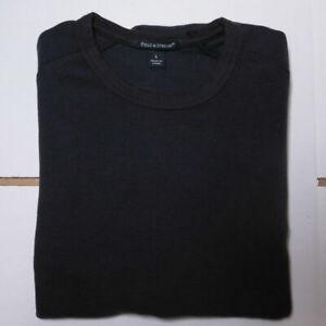 100% Cotton Jumper - Men's, Fields & Stream - BLACK