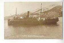 S.S. Admiral Sampson, Juneau, Alaska RPPC
