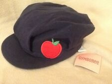 NEW Gymboree Girls Cap/Hat with Red Apple Size 8 & Up (New with Tag)