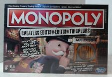 NEW Hasbro Gaming Monopoly Game: Cheaters Edition Ages 8 and Up