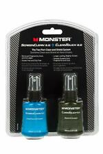 Monster ScreenClean 2.0 + CleanTouch 2.0 Screen Clean and Shield System 2 x 60ml