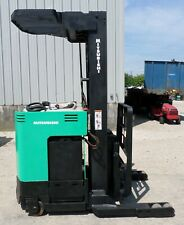 Mitsubishi Model Esr36 (2002) 4500 Lbs Capacity Great Reach Electric Forklift !