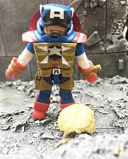 Marvel Minimates FIGHTING CHANCE CAPTAIN AMERICA Wave 54 Loose X-Men Avengers
