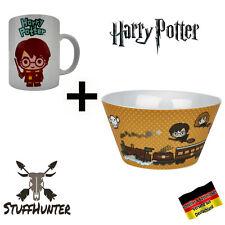Harry Potter Tasse + Müslischale Mug + Bowl Bol Hogwarts Railways Merch Neu OVP