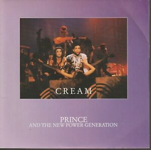 """Prince Cream 45T 7"""" 45 Tours SP France French Pressing"""