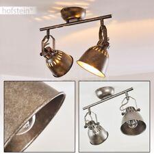 Plafonnier Retro Lustre argenté Lampe à suspension Luminaire Éclairage de salon
