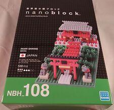 Kawada Nanoblock INARI SHRINE NEW - japan building toy block NBH_108 530PCS