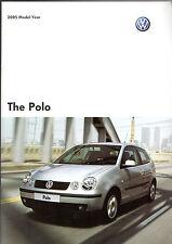 Volkswagen Polo 2004-05 UK Market Sales Brochure E S Twist Sport GT