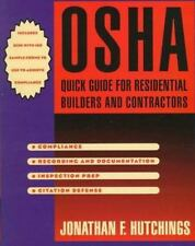 OSHA Quick Guide for Resdential Builders and Contractors with Disk