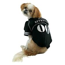 NEW Dog Pet Puppy Wide Retriever gray #00 Football Costume Jersey SMALL