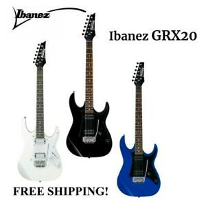 **IBANEZ GRX20Z ELECTRIC GUITAR IN BLACK,BLUE, WHITE - FREE SHIPPING**