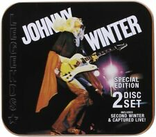(RARE) Johnny Winter Second Winter & Captured Live Special Edition 2-CD Set