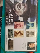 Churchill cover 3 UK 3 sets of stamps D2