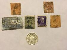 SILVER Coin 1887 M 1 LIRA Umberto STAMP 1863 1879 5C1906 15C1903 25C 1901 1929 2