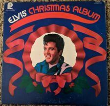 Elvis Presley Christmas album vinyl