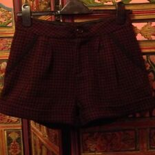 Topshop Check Shorts for Women