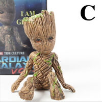 Baby Groot Statue Action Figure Avengers Guardians of the Galaxy Toy Accessory