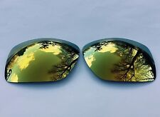 POLARIZED 24K GOLD MIRRORED REPLACEMENT OAKLEY BIG TACO LENSES