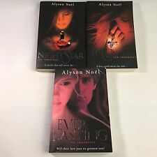 3 Alyson Noël Books - Shadow Land, Everlasting, Night Star - Bundle