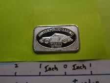 PORSCHE 930 TURBO CONTINENTAL COINS 1983 VINTAGE 999 SILVER COIN RARE NICE #B
