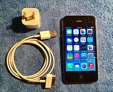 Apple iPhone 4 Black 16GB Factory Unlocked A1332 GSM