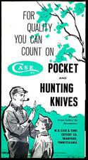 Case Hunting Pocket Knives Rare Vintage Famous Knives Brochure 516 523 Finn Jack