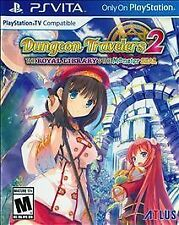 Dungeon Travelers 2: The Royal Library & the Monster Seal (Sony PlayStation Vita