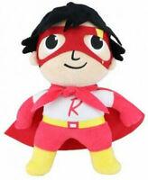 "Ryans World RYAN Large 10"" Plush Red Titan Super Hero Ryan Stuffed Toy New"
